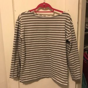 Everlane 100% Cotton Striped Heavyweight Tee